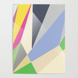 Abstract geometric background #society6 #decor #buyart #artprint Poster