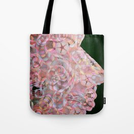 Face one by Leslie Harlow Tote Bag