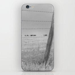 Fenced In Westward iPhone Skin