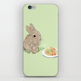 Sweet Rabbit iPhone Skin