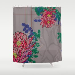 Lotus - Kinship Shower Curtain