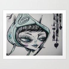 nocturna Art Print