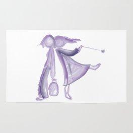 Purple girls Rug