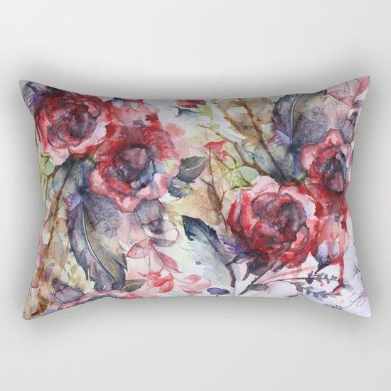 Bloodflowers Rectangular Pillow