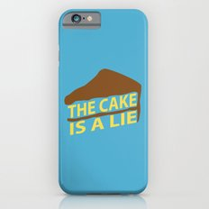 The Cake Is A Lie (Blue Version) iPhone 6s Slim Case