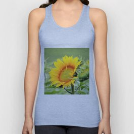 Yellow Sunflower Unisex Tank Top