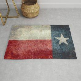 Texas state flag, Vintage banner version Rug