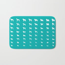 All Dogs (Aqua) Bath Mat