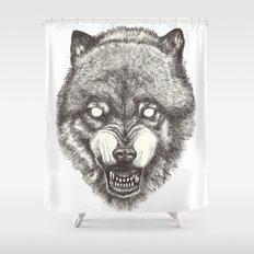 Day wolf Shower Curtain
