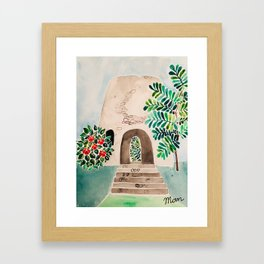 Sugar Mill Framed Art Print