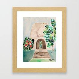 Sugar Mill Framed Art Print