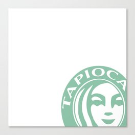 Tapioca Tea Canvas Print