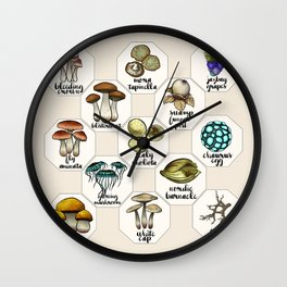 Skyrim Ingredient Illustrations Vol. 1 Wall Clock