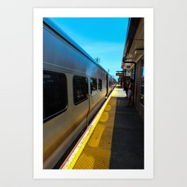 Long Island Railroad Art Print