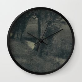 Landscape by Heinrich Kuhn Wall Clock