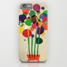 Happy flowers in the vase iPhone 6 Slim Case