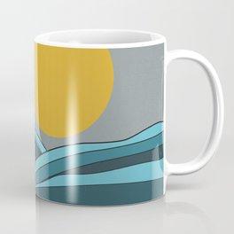 The ocean, waves and sun Coffee Mug