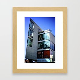 Shopping Mall in Ulm, Germany Framed Art Print