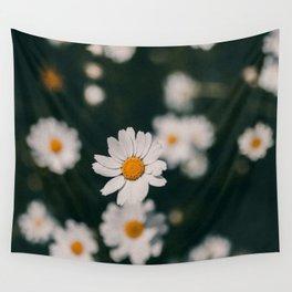 The Dark Daisy Wall Tapestry