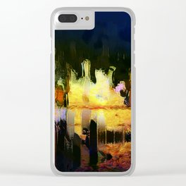 citylights Clear iPhone Case