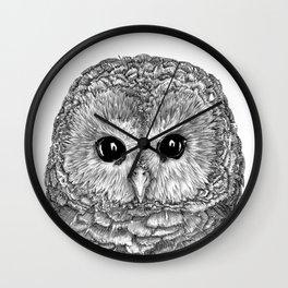 Tiny Owl Wall Clock
