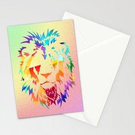 Rainbow Lion Stationery Cards