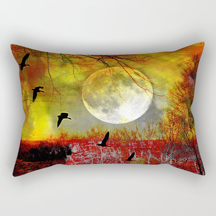 fantasy forest Rectangular Pillow