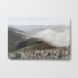 Winter in the White Mountains Metal Print