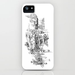 This Is Your Gun On Drugs iPhone Case