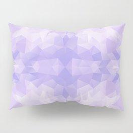 Light purple geometric design Pillow Sham