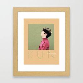 NCT 2018 - Kun Framed Art Print