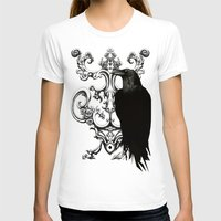 raven T-shirts featuring Raven by Кaterina Кalinich