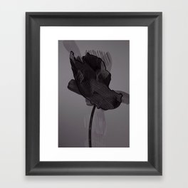 leaf nine Framed Art Print