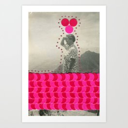 Confetti Series 023 Art Print