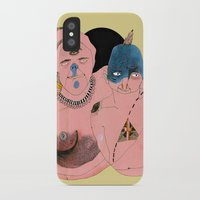 angels iPhone & iPod Cases featuring Angels by Amandah Andersson