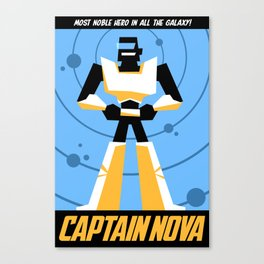 Captain Nova! Canvas Print