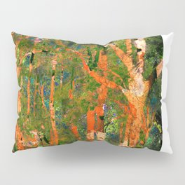 Forest Fire Pillow Sham