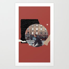 Dublin city art Art Print