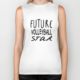 Future Volleyball Star Biker Tank