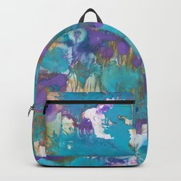 Blue Blossom Backpack