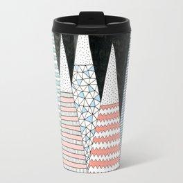Pastel Peaks Travel Mug