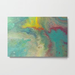 Pastel abstract Metal Print