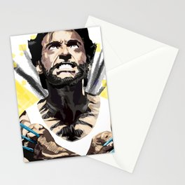 Hero by adamantium claws Stationery Cards