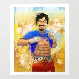 Manny Pacquiao - Pound 4 Pound Art Print
