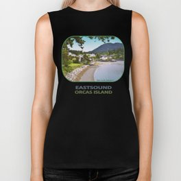 EASTSOUND ON ORCAS ISLAND IN THE PACIFIC NORTHWEST Biker Tank