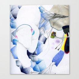 Puzzled. Canvas Print
