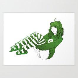 P-chan Art Print