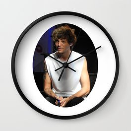Fluffy Louis Wall Clock