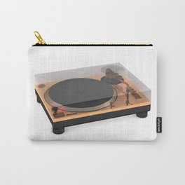Golden Turntable Carry-All Pouch