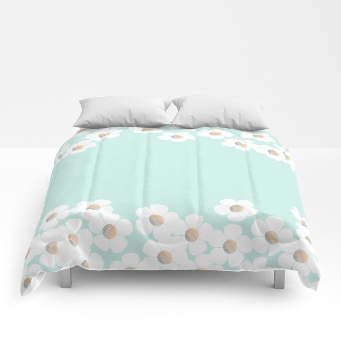 DAISY RAIN MINT Comforters